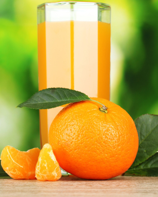 Orange and Mandarin Juice - Obrázkek zdarma pro Nokia C2-00