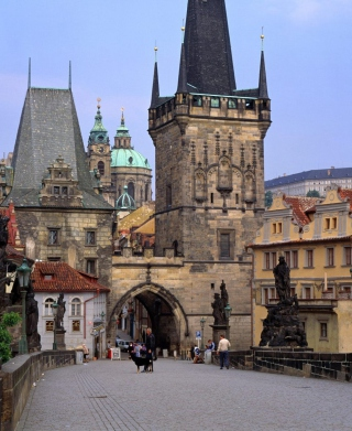 Charles Bridge Prague - Czech Republic - Obrázkek zdarma pro Nokia Lumia 900