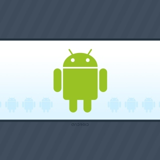 Android Phone Logo - Obrázkek zdarma pro iPad