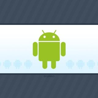 Android Phone Logo - Obrázkek zdarma pro iPad mini 2