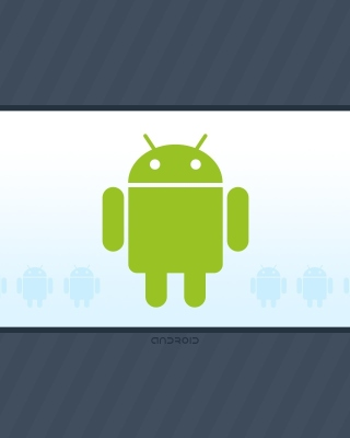 Android Phone Logo - Obrázkek zdarma pro 750x1334