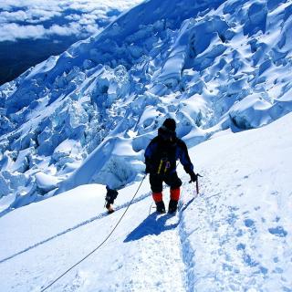Climbers in Nepal - Obrázkek zdarma pro 208x208
