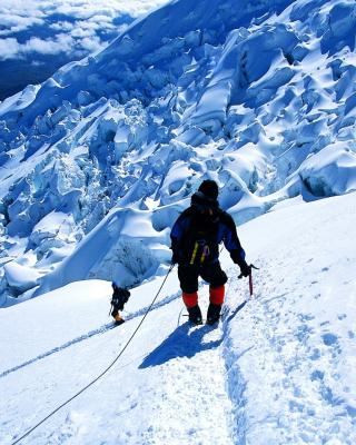 Climbers in Nepal - Obrázkek zdarma pro 360x400