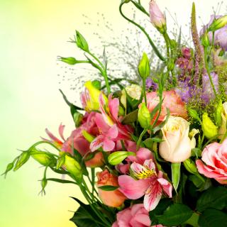 Calla Lily Bouquet - Obrázkek zdarma pro 1024x1024