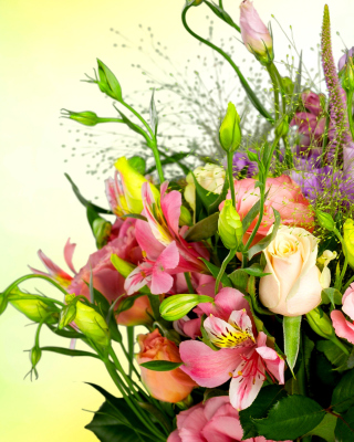Free Calla Lily Bouquet Picture for LG 230 Simple Flip