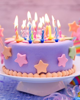 Happy Birthday Cake - Obrázkek zdarma pro Nokia Asha 308