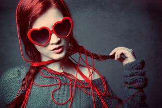 Girl In Love - Obrázkek zdarma pro Samsung Galaxy S II 4G