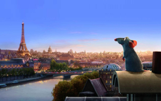 Ratatouille - Obrázkek zdarma pro Nokia Asha 205