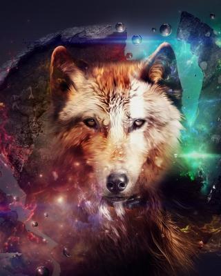 Magic Wolf - Obrázkek zdarma pro Nokia 5233