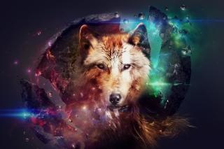 Magic Wolf - Obrázkek zdarma pro Samsung Galaxy Tab 10.1