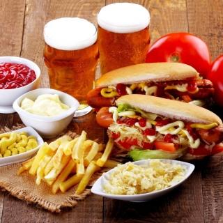 Hot Dog Sandwich - Obrázkek zdarma pro iPad
