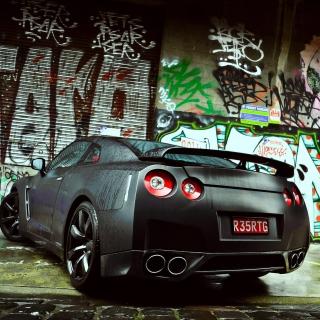 Nissan GTR - Obrázkek zdarma pro iPad 2