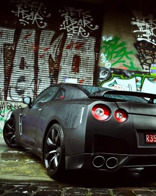 Nissan GTR - Obrázkek zdarma pro iPhone 5