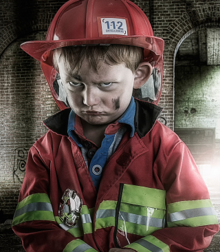 Grumpy Boy - Obrázkek zdarma pro Nokia C-Series