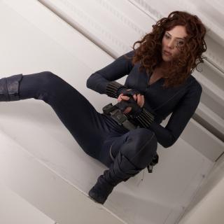 Scarlett Johansson as Black Widow - Obrázkek zdarma pro 1024x1024