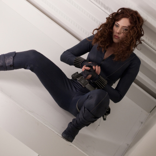 Scarlett Johansson as Black Widow - Obrázkek zdarma pro iPad
