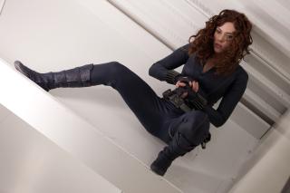 Scarlett Johansson as Black Widow - Obrázkek zdarma pro Sony Xperia Z3 Compact