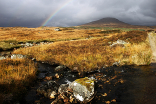 Rannoch Moor Background for Android, iPhone and iPad