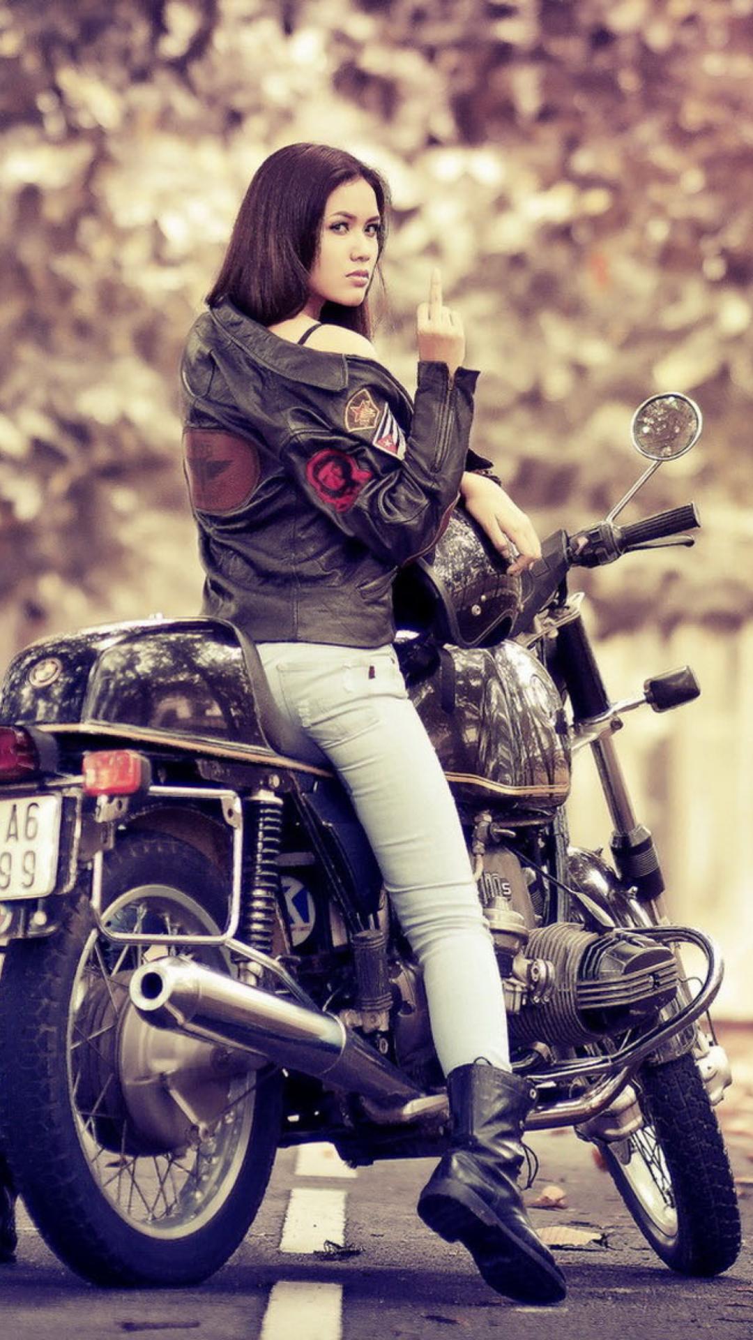 Фото женщин байкерш 4 фотография