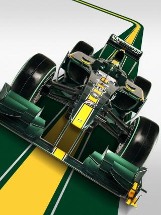 Lotus F1 - Obrázkek zdarma pro Nokia C5-03