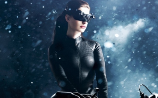 Free Catwoman Anne Hathaway Picture for Android, iPhone and iPad
