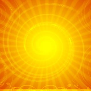 Vector Sun Rays - Obrázkek zdarma pro 208x208