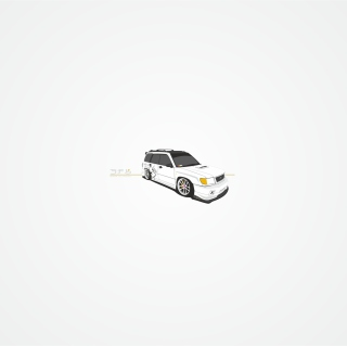Subaru Forester Sf5 - Obrázkek zdarma pro iPad mini 2
