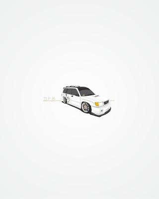 Subaru Forester Sf5 - Obrázkek zdarma pro Nokia Asha 306