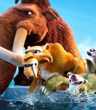Ice Age Cartoon - Obrázkek zdarma pro 320x480
