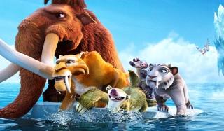 Ice Age Cartoon - Obrázkek zdarma pro Samsung Google Nexus S