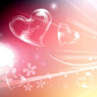 Flying Hearts - Obrázkek zdarma pro iPad 3