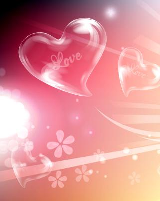 Flying Hearts - Obrázkek zdarma pro Nokia Asha 300