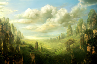Free Fantasy Landscape Picture for Android, iPhone and iPad