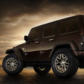 Jeep Wrangler Rubicon hardtop - Obrázkek zdarma pro iPad mini