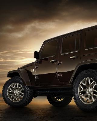 Jeep Wrangler Rubicon hardtop - Obrázkek zdarma pro Nokia Asha 503