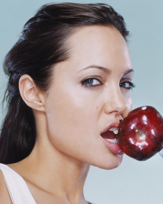 Angelina Jolie - Obrázkek zdarma pro 240x432