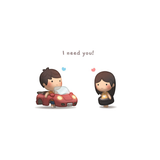 I need you - Obrázkek zdarma pro 320x320