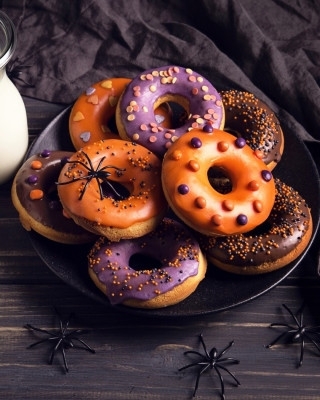 Halloween Donuts - Obrázkek zdarma pro iPhone 4S