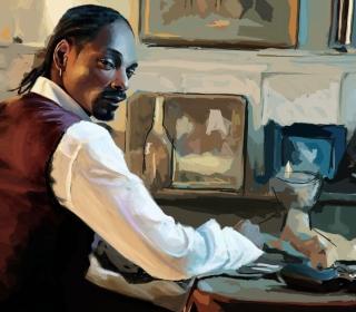 Snoop Dog Portrait Painting - Obrázkek zdarma pro iPad Air
