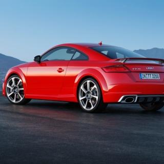 Audi TT RS Coupe - Obrázkek zdarma pro iPad