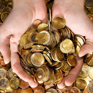 Euro cent coins - Obrázkek zdarma pro iPad Air