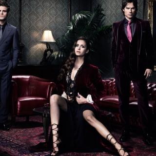 The Vampire Diaries - Obrázkek zdarma pro 208x208