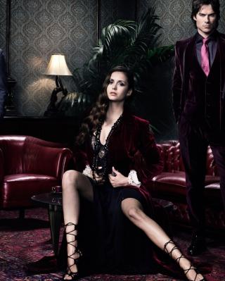 The Vampire Diaries - Obrázkek zdarma pro iPhone 4S