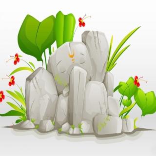 Lord Ganesha - Obrázkek zdarma pro 2048x2048