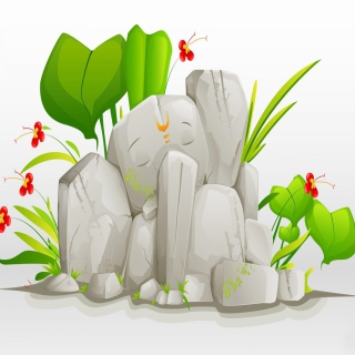 Lord Ganesha - Obrázkek zdarma pro iPad mini
