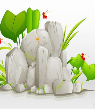Lord Ganesha - Obrázkek zdarma pro Nokia C-5 5MP