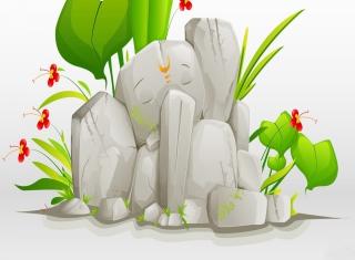 Lord Ganesha - Obrázkek zdarma pro Fullscreen Desktop 800x600