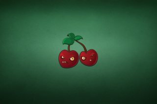 Free Evil Cherries Picture for Android, iPhone and iPad