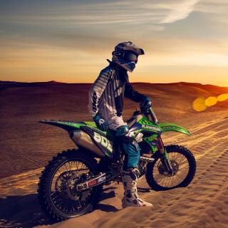 UAE Desert Motocross - Obrázkek zdarma pro 208x208