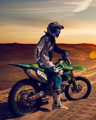 UAE Desert Motocross - Obrázkek zdarma pro Nokia 206 Asha